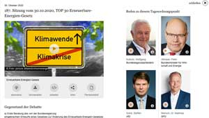 EEG-Debatte im Bundestag